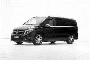 Mercedes Classe V Amg : mercedes benz v class gets the brabus treatment for geneva carscoops ~ Gottalentnigeria.com Avis de Voitures