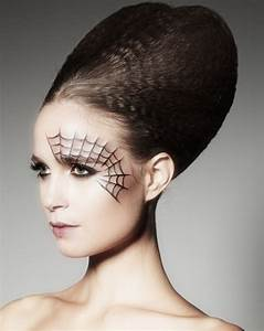 Beauty Spooky Chic Halloween Hair And Makeup At Duck