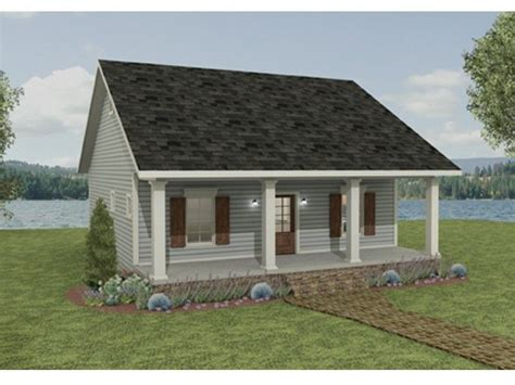 Country House Plan with 992 Square Feet and 2 Bedrooms