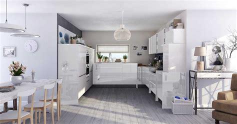modele de cuisine blanche cuisine ixina blanche cool cuisine blanche et bois