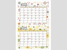 カレンダーのダウンロード 2 2019 2018 Calendar Printable with