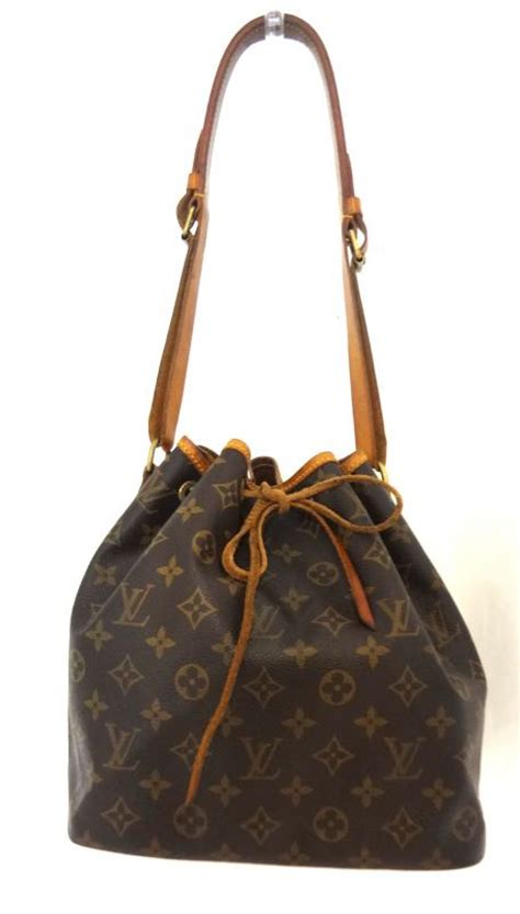 louis vuitton vintage monogram noe gm drawstring bucket