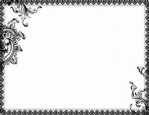 Blank Certificate Templates With Border Gallery ...