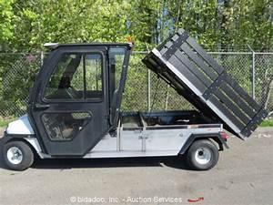 Club Car Carryall 6 36 Volt Industrial Dump Bed Utility