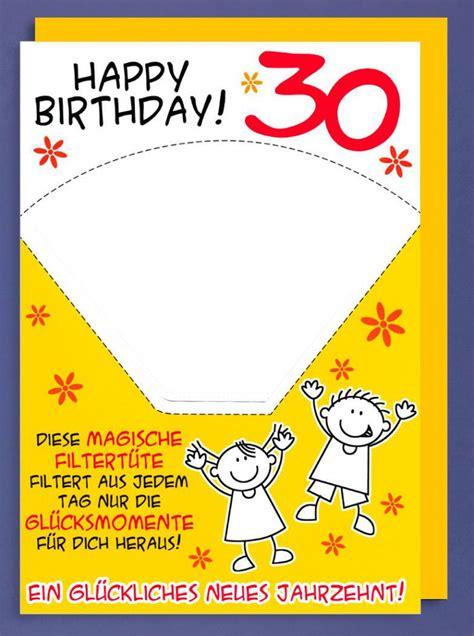 Riesen Grußkarte 30 Geburtstag Humor Avanfriends Xxl