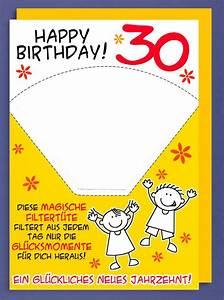 30 Dinge Zum 30 Geburtstag : riesen gru karte 30 geburtstag humor avanfriends xxl accessoires magische filtert te a4 505438 ~ Markanthonyermac.com Haus und Dekorationen