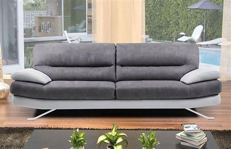 canapé grande profondeur canapé contemporain en cuir chagne
