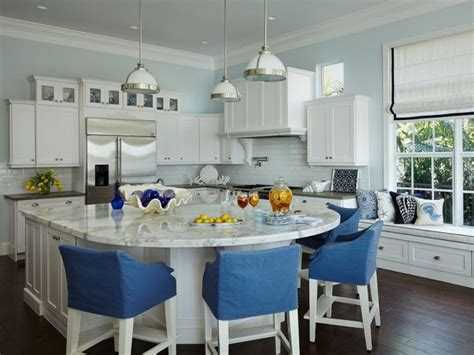 Best 25+ Round Kitchen Island Ideas On Pinterest  Curved