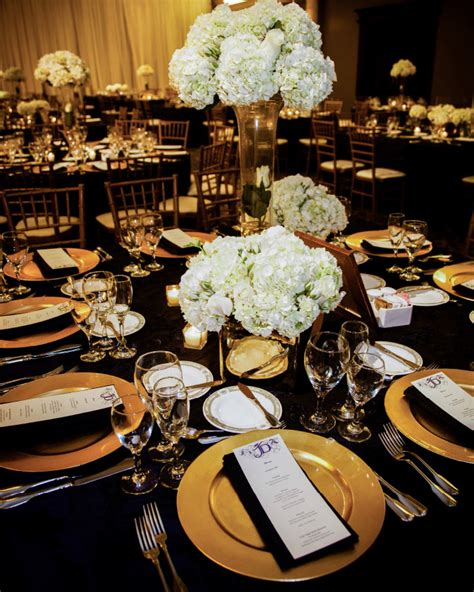 black white and gold centerpieces for wedding get inspired 54 enchanting wedding centerpiece ideas wedding centerpieces gold chargers and