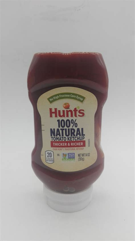 Select Food Shoppe. HUNTS NATURAL TOMATO KETCHUP SQUEEZE 397gm