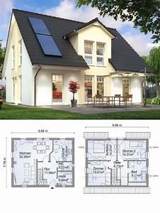 Haus Bauen Ideen Grundriss : einfamilienhaus neubau im landhausstil mit satteldach ~ Orissabook.com Haus und Dekorationen