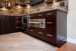 built-in-pizza-oven-Basement-Modern-with-bar-basement