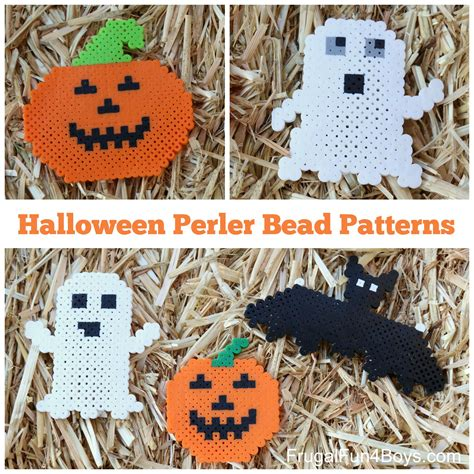 Halloween Perler Bead Patterns  Frugal Fun For Boys And Girls