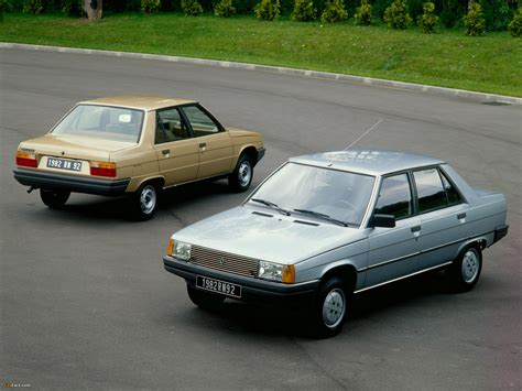 Renault 9 L42 14 Turbo 116 Hp