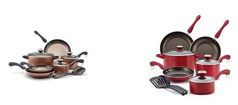 paula dean dishwasher safe  stick  pc cookware sets    mail  rebate
