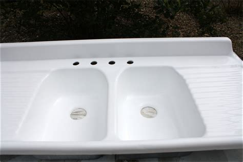 double sink with drainboard double farmhouse sink with drainboard sinks and faucets