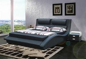 choisissez un lit en cuir pour bien meubler la chambre a With tapis design avec karup canapé lit