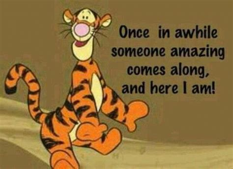 The Wonderful Thing About Tiggers …