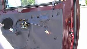 How To Remove Car Door Panel  Ford F