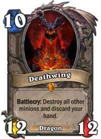 deathwing deck ungoro deathwing hearthstone wiki