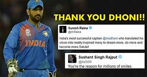 Dhoni Resigns A... Dhoni Retires Quotes
