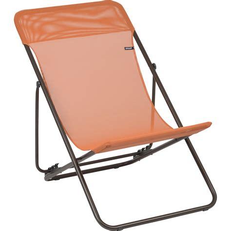 chaise longue lafuma leroy merlin transat de jardin en acier maxi transat potiron leroy merlin