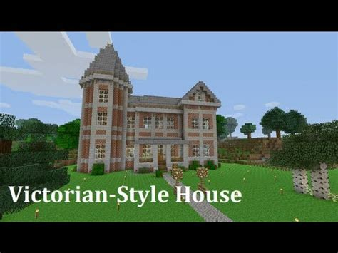 xbox  minecraft  victorian style house youtube