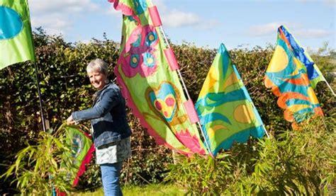 flag  banner making workshop  exeter daily