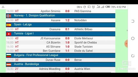 todays football fixtures  livescore results  livescore cz official hd video  youtube