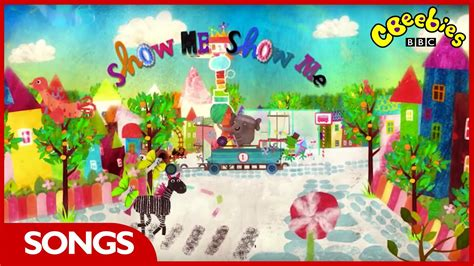 Cbeebies Show Me Show Me  Theme Song Youtube