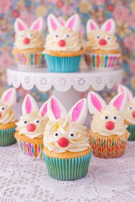 how to make easter cupcakes bunny cupcakes with marshmallow ears