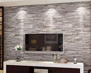 Papier Peint Brique Relief : acheter beibehang r tro en relief papier ~ Dailycaller-alerts.com Idées de Décoration