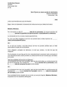 Remboursement Assurance Emprunteur Lettre Type : lettre de r clamation et de demande de remboursement pour ~ Gottalentnigeria.com Avis de Voitures