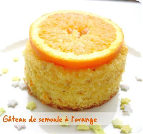 dessert a la semoule g 226 teau de semoule 224 l orange cuisine et d 233 pendances