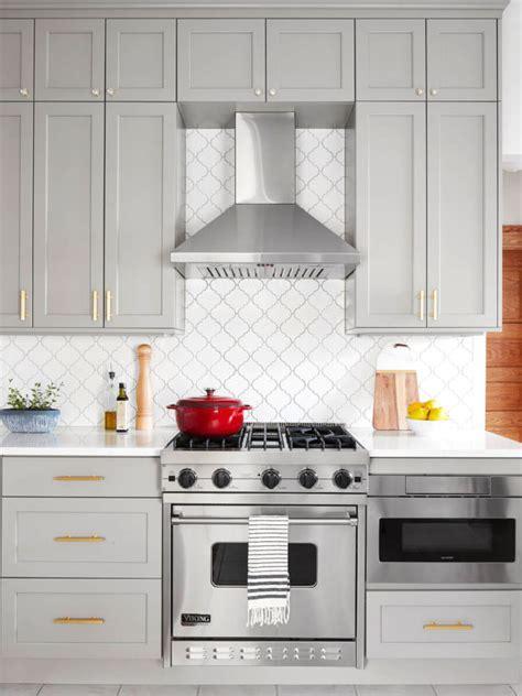 white glazed porcelain arabesque backsplash tile