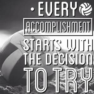 57 best Volleyball Quotes images on Pinterest