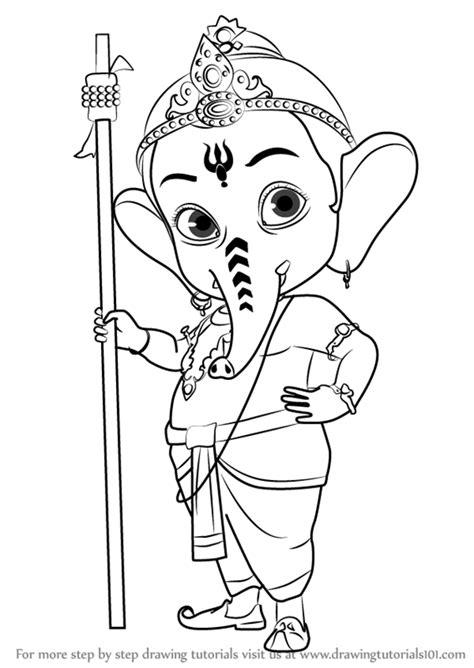 Ganesh Pic Drawing | Drawing Skill