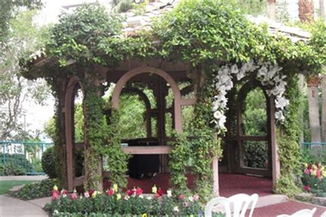flamingo hotel garden chapel las vegas nv wedding