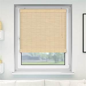 Bambus Raffrollos Fenster Sichtschutz Rollos Aus Bambus
