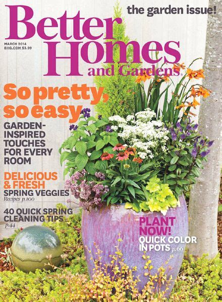 better home and garden download better homes and gardens usa march 2014 pdf magazine