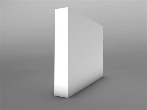 square mdf skirting board mm