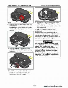 Download Tigercat Feller Buncher 845d L845d Operator U0026 39 S Pdf