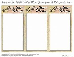 7 best images of printable menu cards free printable With free printable menu cards templates