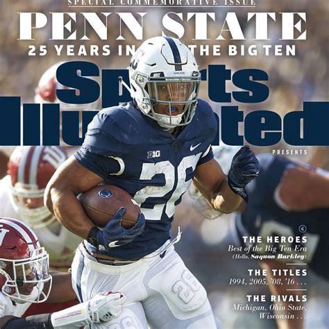 sports illustrated cover jinx saquon barkley