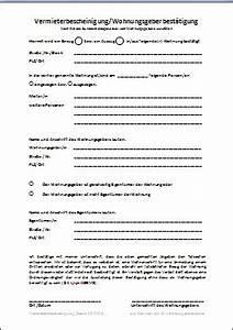 Vermieterbescheinigung Für Neuen Vermieter : vermieterbescheinigung wohnungsgeberbest tigung ~ Lizthompson.info Haus und Dekorationen