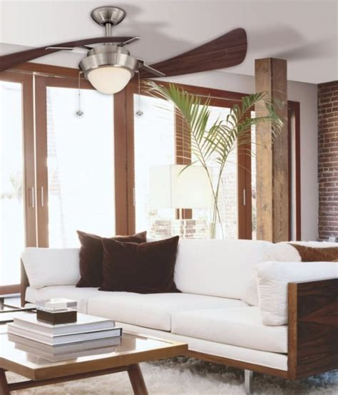 Big Living Room Fan by Modern Ceiling Fans And Contemporary Living Space To Decor