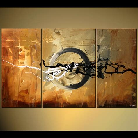 modern painting abstract painting large modern painting with black splashes 5307