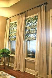 livingroom curtains diy living room curtains no sew and no sew faux shades from thrifty