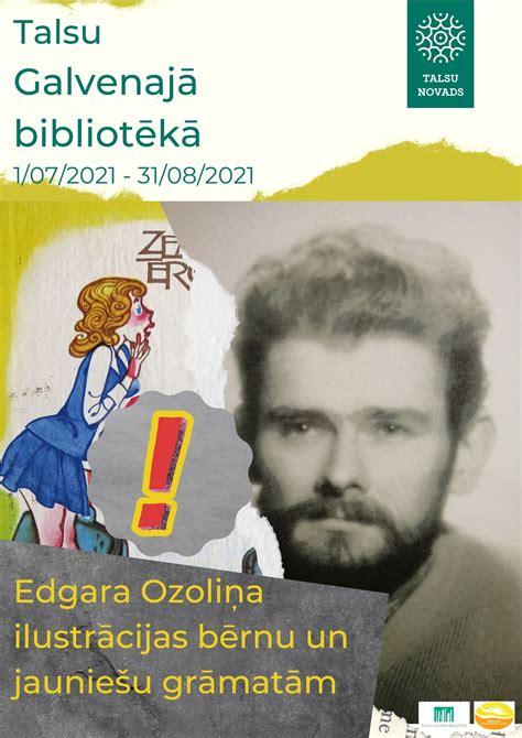 Edgara Ozoliņa ilustrācijas bērnu un jauniešu grāmatām ...