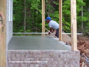 home plans with porches porch foundations porch repairs porch footing